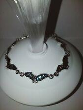 Brand NEW!! Stunning! Marine Opal Paua Shell Bat Bracelet. Flying Fox