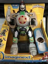 Imaginext Dragonzord Power Rangers Green R/C New *Works* *NO REMOTE*