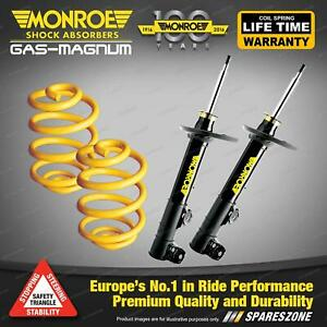 Front Lower Monroe Shock Absorbers King Springs for BMW X SERIES E53 X5 3.0 4.4