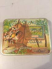Vintage Advertising Tobacco Box, Nestor Gianaclis, au Caire, Cigarettes Queen