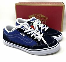 VANS Bearcat Navy Suede Canvas Men's  Sneakers VN000DT2NGJ