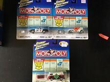 Johnny Lightning Monopoly - Lot of 3 W/KB exclusive VW Van