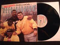 FAT BOYS - Chillin' With The Refrigerator - 1985 Vinyl 12'' Single / VG+/ Rap