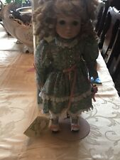 """Victoria Ashlea Porcelain Musical """"Hilary�Doll, by Bette Ball for Goebel 69/1000"""