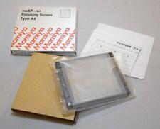 Mamiya RB67 Pro SD Camera Focusing Screen Grid Matt Type A4 in box