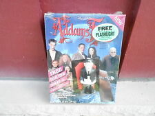 1991 The Adams Family Cereal Box with monster flashlight - Sealed (S1)
