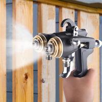 Paint Spray Gun Double Nozzle Spray Gun Air Compressor Pneumatic Sparayer 1.4mm