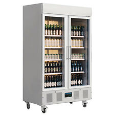 CD984 Gastronomie Getränkekühlschrank Kühlschrank mit Glastür Gewerbekühlschrank