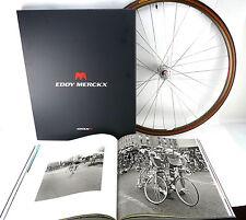 Eddy Merckx : EMX-7 Art table Book almost 3 FEET ACROSS RARE! GIFT NOS