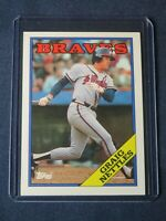 1988 Topps GRAIG NETTLES Atlanta Braves Baseball Card #574 MINT In toploader