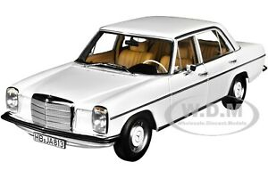 1968 MERCEDES BENZ 200 WHITE 1/18 DIECAST MODEL CAR BY NOREV 183770