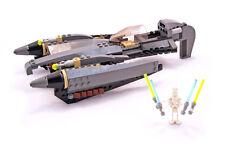 Lego Star Wars Set 7656 General Grievous Starfighter 2007 100% Complete Bricks