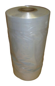 CLEAR POLYTHENE GARMENT COVERS PLASTIC FILM DRY CLEANERS BAGS CLOTHES UK MADE!!!