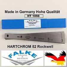 6 Stück Scheppach HT1050 Abricht-Dickenhobel 254mm Hobelmesser