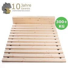 TUGA Holztech heimisches Massivholz Rollrost 140x200 cm 300kg 5 Jahre Garantie