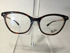 be1aceb2f88 RayBan RB5360 Women s Plastic Eyeglass Frame 5713 Tortoise Brown NEW!  Authentic!