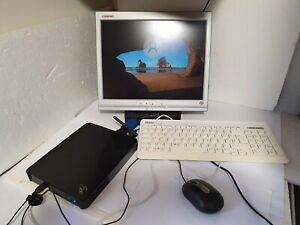 EeeBox B202 CPU Atom N270 2GB RAM 160GB HDD Mini PC with 15 Monitor