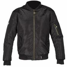 Spada Air Force 1 Mens Waterproof Motorcycle Scooter Bomber Jacket Black Green