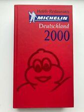 Guide Michelin Deutschland 2000