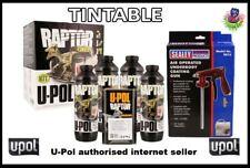 UPOL 4L Raptor Tough Urethene Coating Truck Bed Liner (TINTABLE)+APPLICATOR GUN