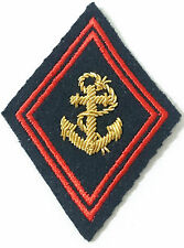 Losange / écusson de bras pour Ténue Uniforme de OFFICIER TDM Troupes de Marine