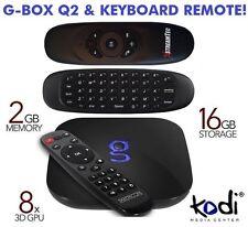 Matricom G-Box Q2 y mouse de aire remota Kodi Android 5.1 Tv Box Quad ocho núcleos Q 2