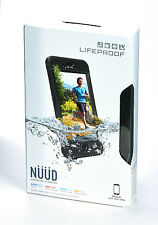 LifeProof nuud Waterproof Water Dust Proof Case for iPhone 6s (Black) NEW SEALED