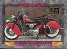 Skybox American Vintage Cycles Prototype Promo Card 1947 Indian Chief