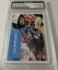 Dan Wheldon 2005 Indianapolis Motor Speedway Card Autographed PSA DNA