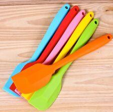 Silicone Spatula Scraper Baking Cooking Mixer Kitchen Utensil Tool Cake Colour