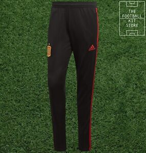 Spain Training Pants - adidas FEF Football Tracksuit Bottoms - Mens - All Sizes