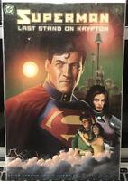 Hot! Superman Last Stand On Krypton (2003) Nm Cond