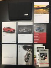 2017 17 Audi Q3 Owners Manual w/Case