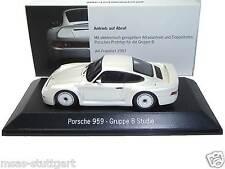 Porsche 959 Gruppe B Studie IAA 1983 Spark 1:43 MAP02004715 Museum Edition neu