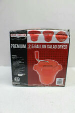 Chef-Master Commercial 2-1/2-Gallon Salad Dryer