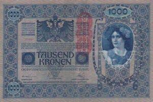 1919 Austria 1,000 Kronen Note, Pick 59