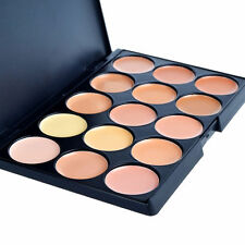 15 Colors Neutral Makeup Face Eye shadow Camouflage Cosmetic Concealer Palette 2