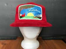 Vintage Patch Snapback Trucker Hat California Farm K Products Nos org. Sticker