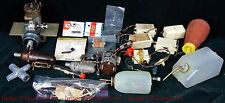 Misc lot of Radio Controlled model Motors Tanks Servos Tools & Parts