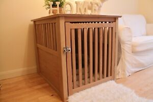 Luxury Wooden Dog Crate Kennel or Cage