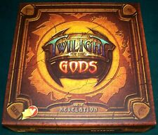 Twilight of the Gods Age of Revelation Game + 12 Deity Cards - Excellent