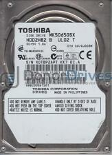MK5065GSX, C0/GJ003M, HDD2H82 B UL02 T, Toshiba 500GB SATA 2.5 Hard Drive