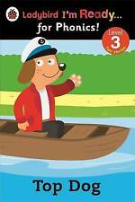 TOP DOG & Pompom & Top Dog is Sick LADYBIRD I'M READY FOR PHONICS READER Level 3