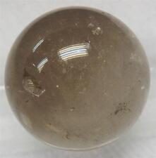 Gray Quartz Crystal Sphere - 30 mm ( 38.7 gram ) - Untreated Natural Stone