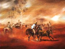 Patrick Kilvington oil 'The Heading of the Scrubber' Australia