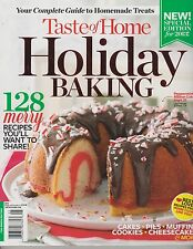 TASTE OF HOME Magazine HOLIDAY BAKING 2013,128 Merry Recipes You'l Want To SHARE