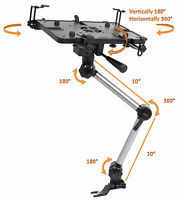 *Bundle*Mobotron MS-426 Standard Car iPad Notebook Laptop Mount+Supporting Brace