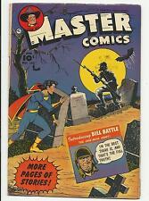 Master Comics #133 LAST ISSUE Bill Battle Tom Mix Captain Marvel, Jr. VG 4.0