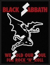 BLACK Sabbath-Patch ricamate-Sold Our Souls 10x7cm