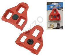 Exustar E-ARC1 Floating Delta Pedals Cleats Red for Bicicleta Cycle Bicycle
